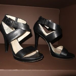 Michael Kors Black Strapped Heel